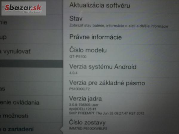 53a757b1d predam tablet Samsung galaxy S2 - PROFIBAZAR.sk