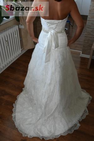 Predám krásne čipkované svadobné šaty - PROFIBAZAR.sk a19a676a3f6