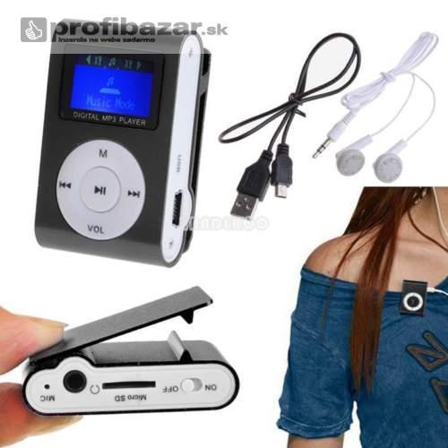 MP3 prehrávač s LCD displejom