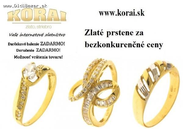 476b23ec8 Prstene zlaté KORAI - PROFIBAZAR.sk