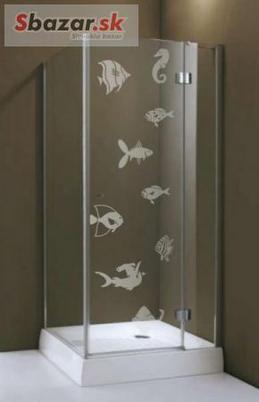 (979g) Nálepka na sprchovací kút.