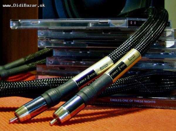 HIGH END signálové kabely CABLE4YOU Encore