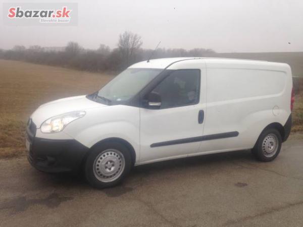 Predám Fiat Doblo Cargo Maxi CNG