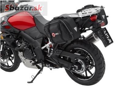 QBag boční textilní brašny na motorku nastavit