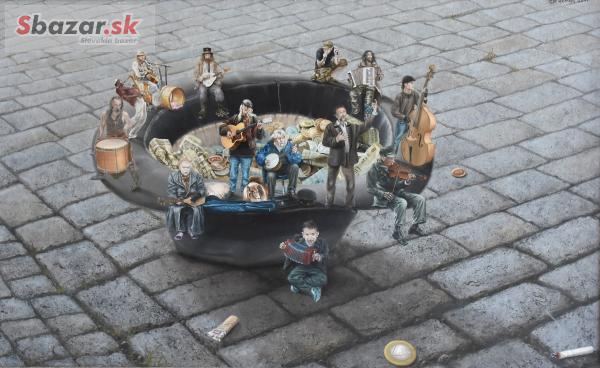 Obraz Žebrácká opera - Zdeněk Kopáč