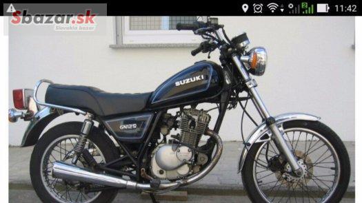 Suzuki GN 125 - r.v.1992 - originál stav