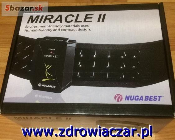 Zdravotný pás Miracle II Nuga Best z Turmanium T