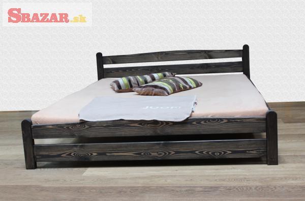 Nová masivní postel s roštem 180 x 200