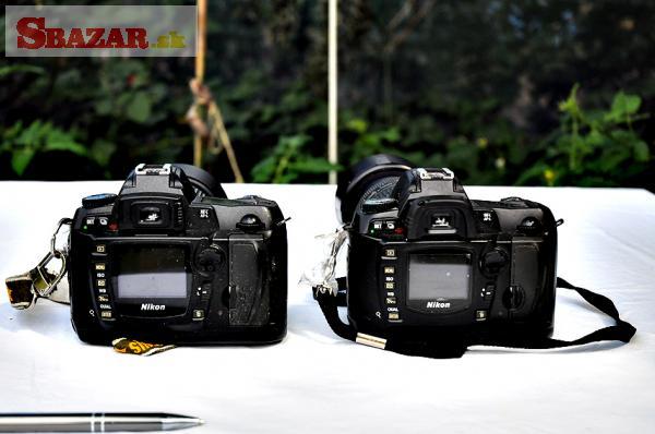 Predám Nikon D70s a D 70