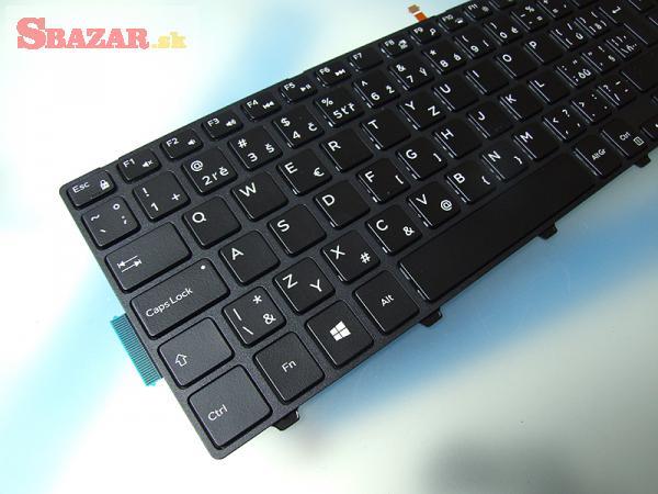 DELL Inspiron 17 7000 series backlit SK klávesnic