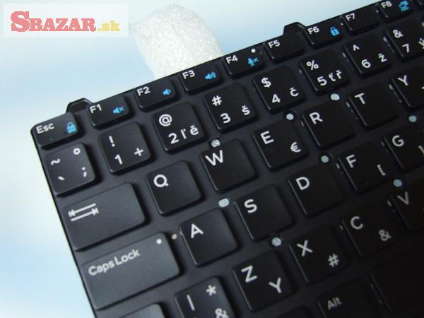 Dell Precision M3510 M7510  backlit SK klávesnica