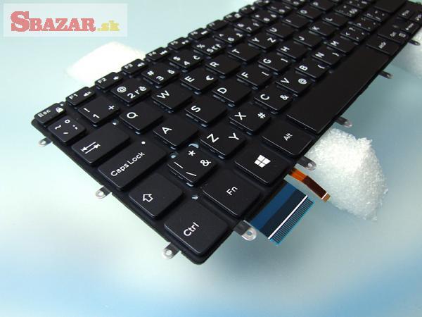 Dell XPS 13 9343 9350 9360 backlit SK klávesnica