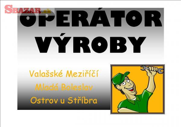 Operátor výroby MLADÁ BOLESLAV
