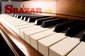 Kúpim piano, pianíno, klavír, krídlo