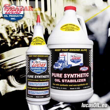 Lucas OIL - aditivum do motoru - SYNTETIC OIL