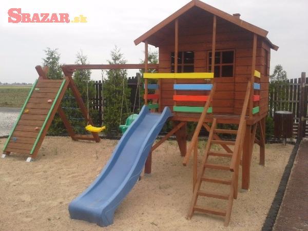Krásne kvalitné nové detské ihrisko preliezač