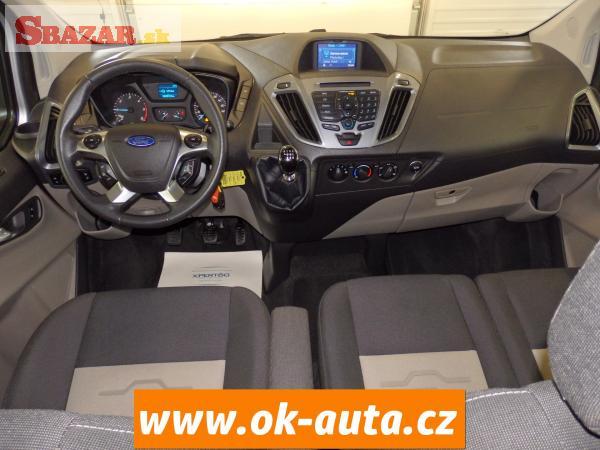 Ford Tourneo Custom 2.2TDCI NAVI 114 kW 9MÍST LON