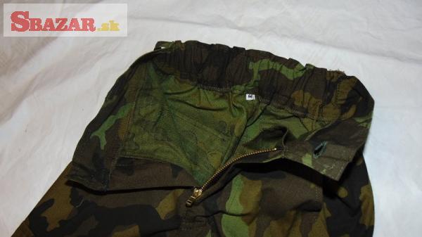 Dětské kalhoty v maskovacím provedení RIPSTOP