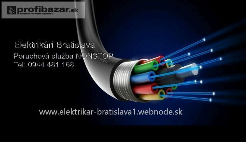 Elektroopravy nonstop Bratislava a okolie