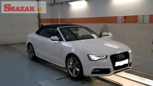 Audi A5 2.0 TDI cabrio S-line, navigace
