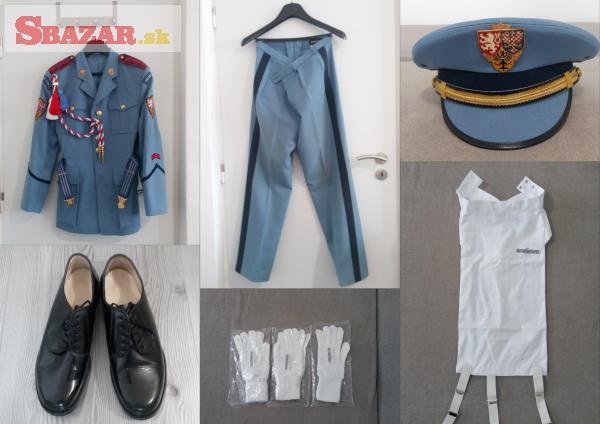 Originální uniforma Hradní stráže České rep