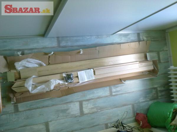 Nové Interierové dvere 70cm L + obložková zar�