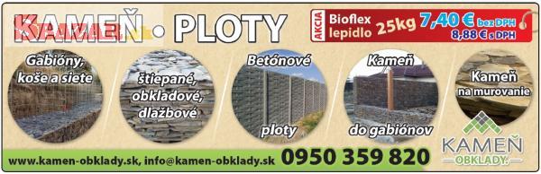 KAMEN - OBKLADY -PLOTY