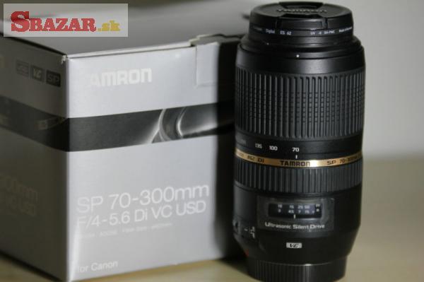 Tamron 70-300/4-5,6 Di SP AF VC USD Nikon