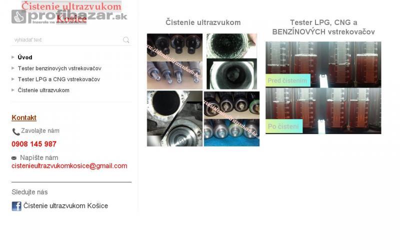 Cistenie ultrazvukom
