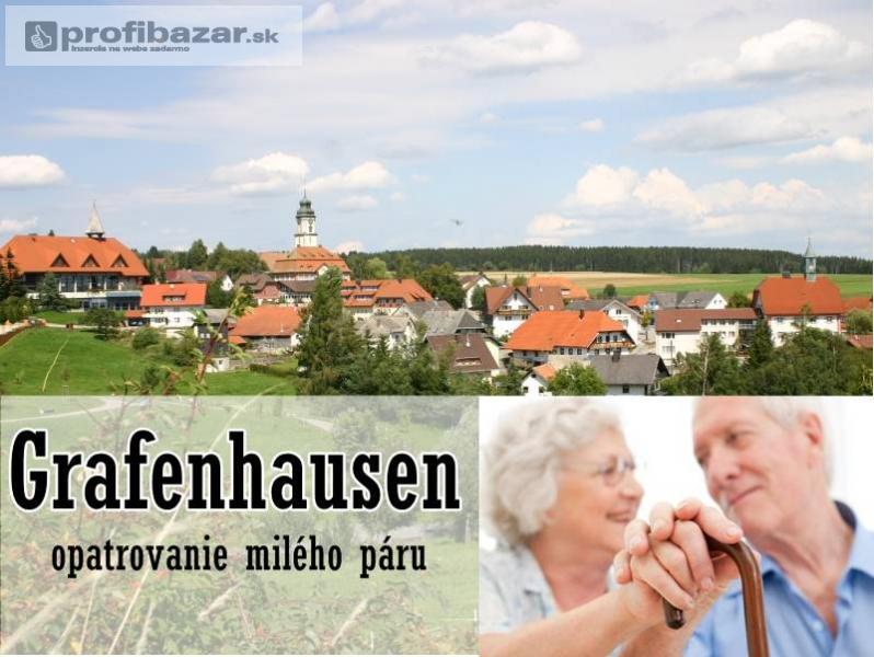 Opatrovanie milého páru v Grafenhausen