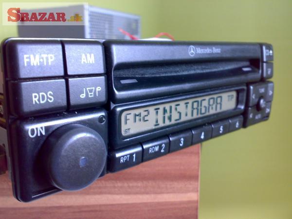 Mercedes rádio do Veterána na CD.