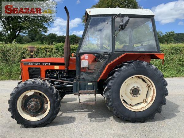 Traktor Zetor 7745 - výborný stav