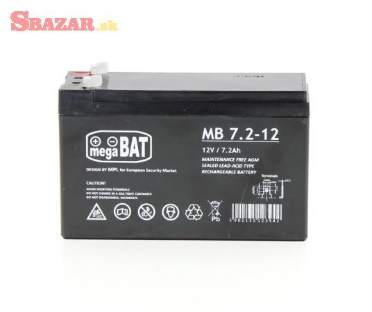 Záložná batéria 12V/7.2Ah pre pohony ARM a MIK