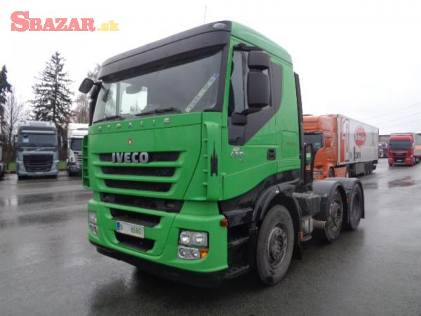 IVECO STRALIS AS 440S45 6x2 + HYDRAULIKA