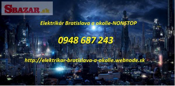 opravy rozvádzačov -elektrikár Bratislava