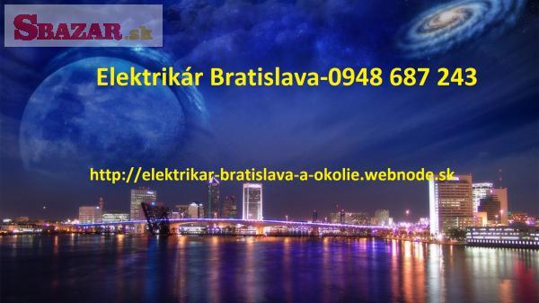elektromechanik -Bratislava a okolie