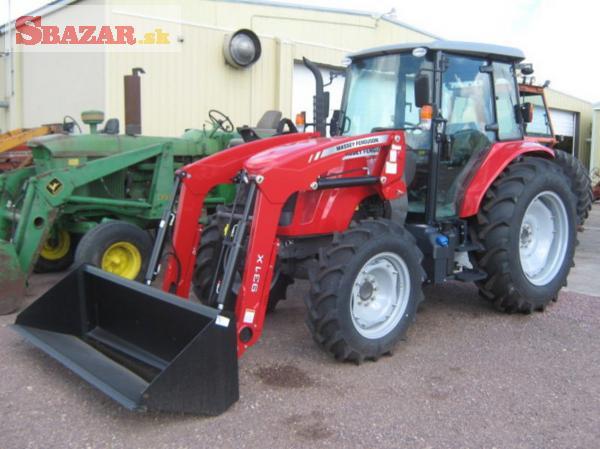 traktor Mass.ey-Fe.rguson 46c10c s čelním naklad