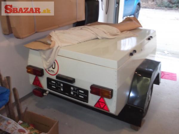 KEMPIK  batožinový prívesný vozík