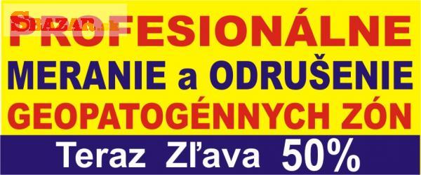 Geopatogénne Zóny - Meranie - celé Slovensko