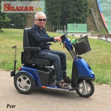 Elektrické invalidní skútry pro seniory a ztp