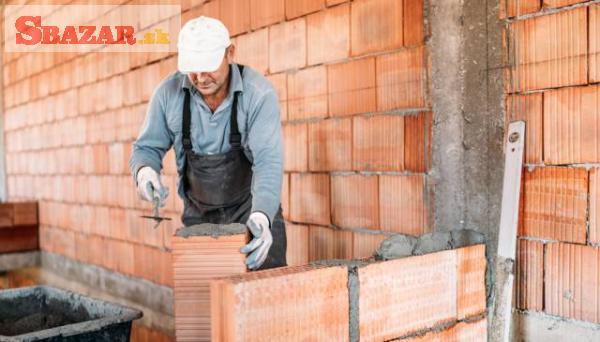 Ponuka práce pre murárov