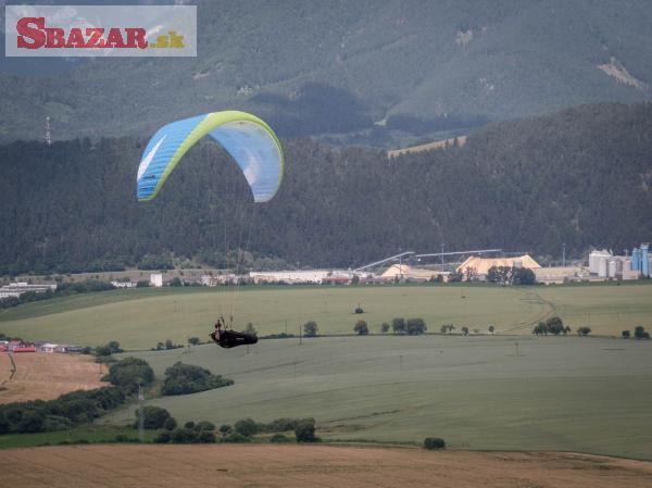 Paragliding výbava - sedačka - klzák - záložk