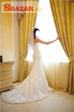 Predám luxusne svadobné šaty originál Miss Kel