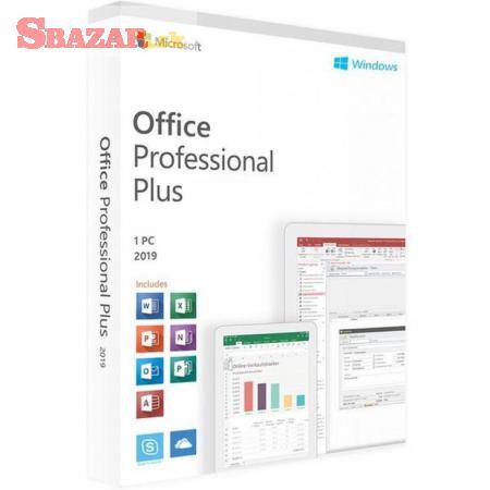 Microsoft Office Professional Plus 2019 - SK/CZ