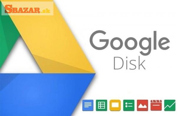 Google disk - Neomezené úložiště napořád