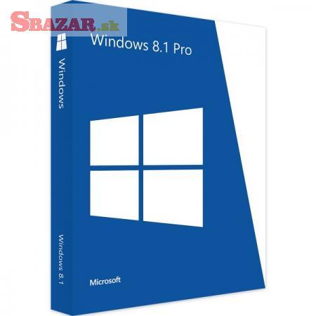 Windows 8.1 Pro - SK/CZ Licence