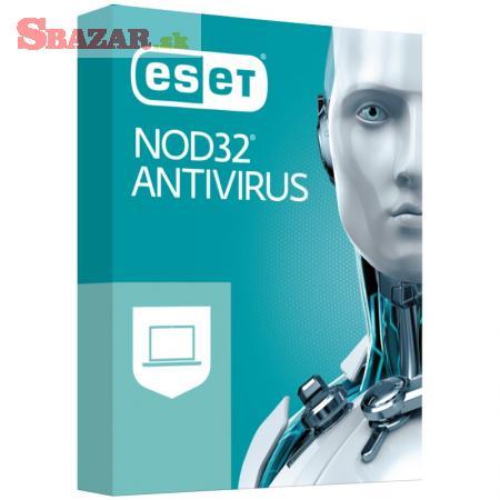 ESET NOD32 Antivirus pro 1-4 PC na 1 nebo 2 roky