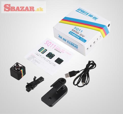 Mini kamera kocka - Sports HD DV SQ11 mini camera