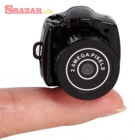 Mini videokamera - Ultramini kamera Spycam full HD