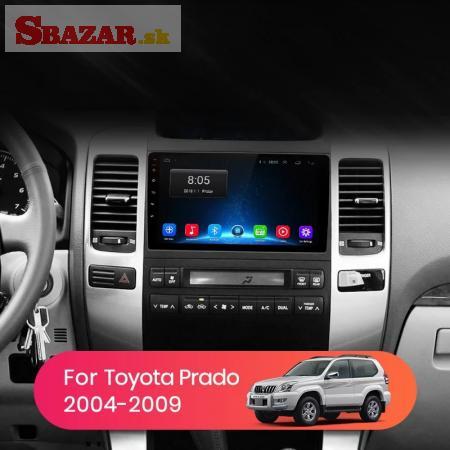 Radio android Toyota Land Cruiser Prado 120 2004-2